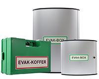 evakuierungskoffer und evakuierungsboxen fuer ausruestung fuer evakuierungshelfer