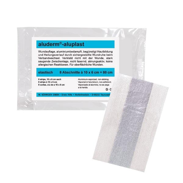 Söhngen aluderm-aluplast | Wundverbandpflaster | 6 cm