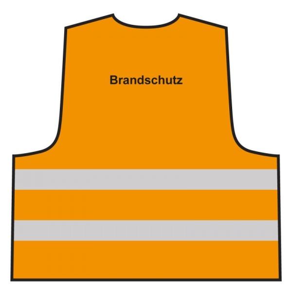Warnweste - Brandschutz | orange