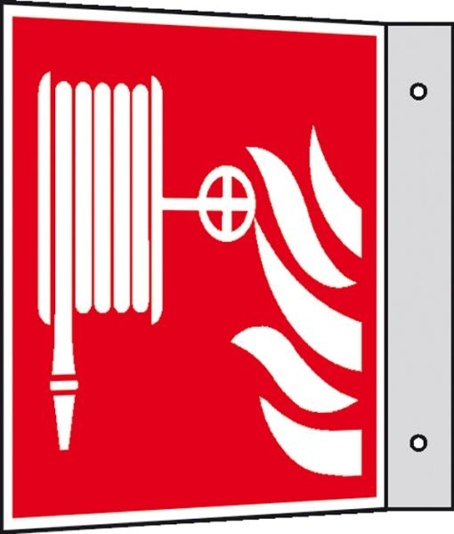 Brandschutzzeichen: Löschschlauch | Kunststoff | 15x15cm