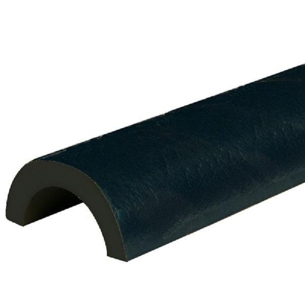 Knuffi SHG Warn- und Schutzprofil   Typ R30   schwarz