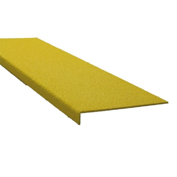 GFK-Antirutschprofil, schraubbar   Extra Stark (4,20 mm)   Gelb