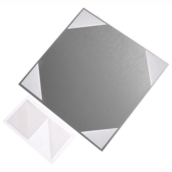 Klebepads aus synthetischem Kautschuk   (Dreieckform, SL 4,0 cm)