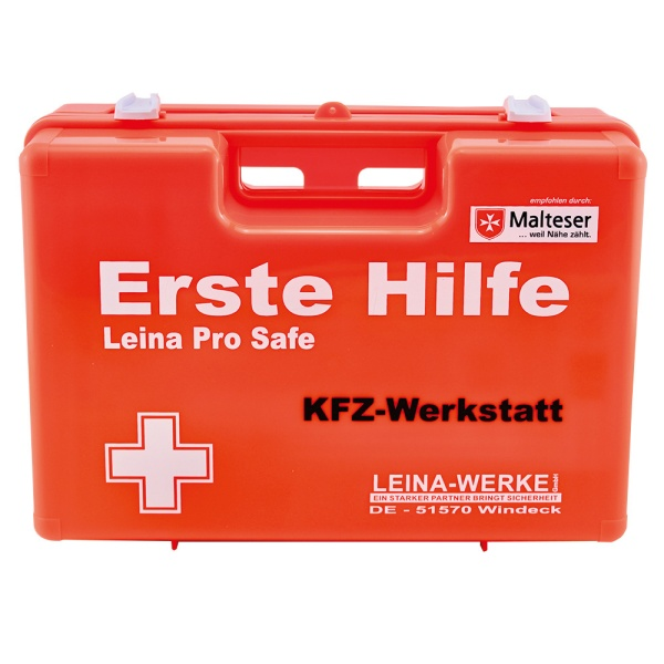Erste Hilfe-Koffer SAN Pro Safe | KFZ-Werkstatt