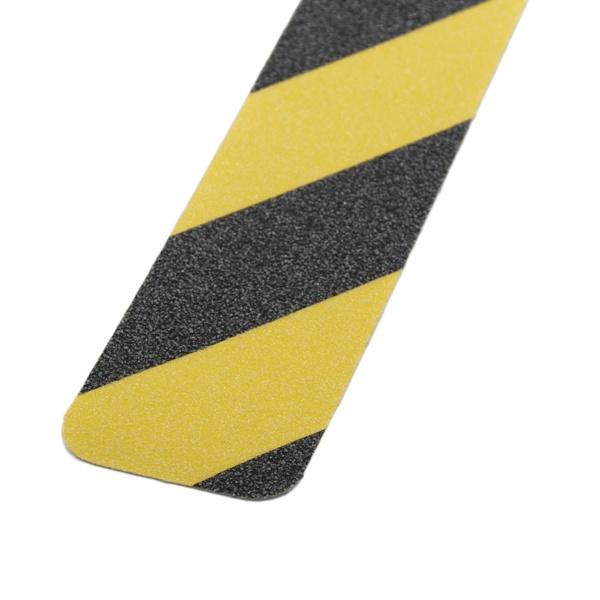 m2-Antirutschbelag™   10 Einzelstreifen gelb/schwarz   2,5 cm breit
