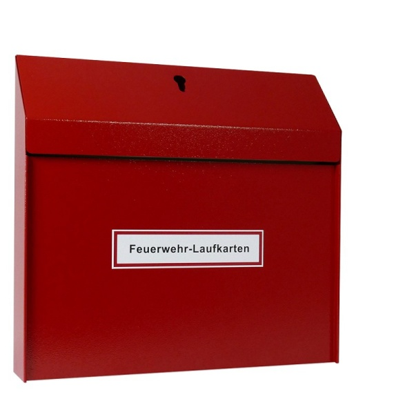 Feuerwehr-Laufkartendepot - für DIN A3 quer