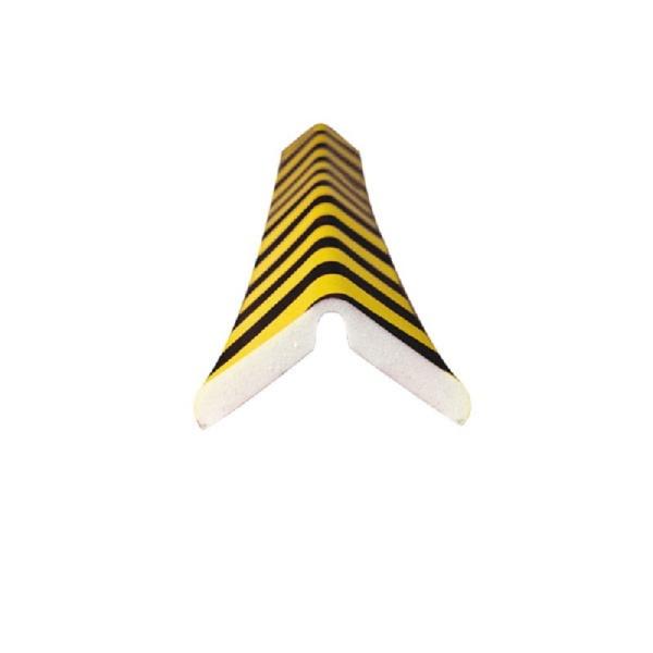 Knuffi SHG Warn- und Schutzprofil   Typ H+ Flex   gelb/schwarz