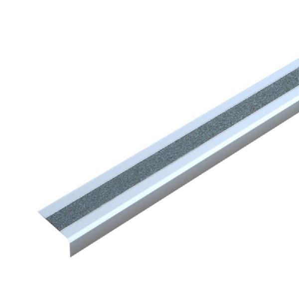 "Antirutsch-Treppenkantenprofil ""Easy Clean""   selbstklebend   grau"