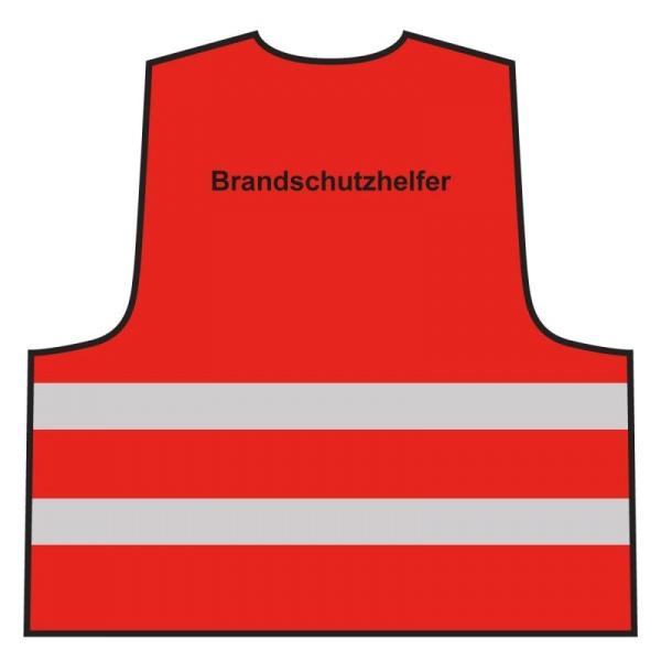 Warnweste - Brandschutzhelfer