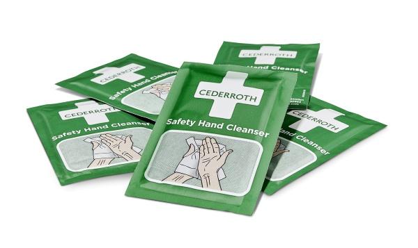Cederroth | Saftety Handreinigungstücher | 600 Stück