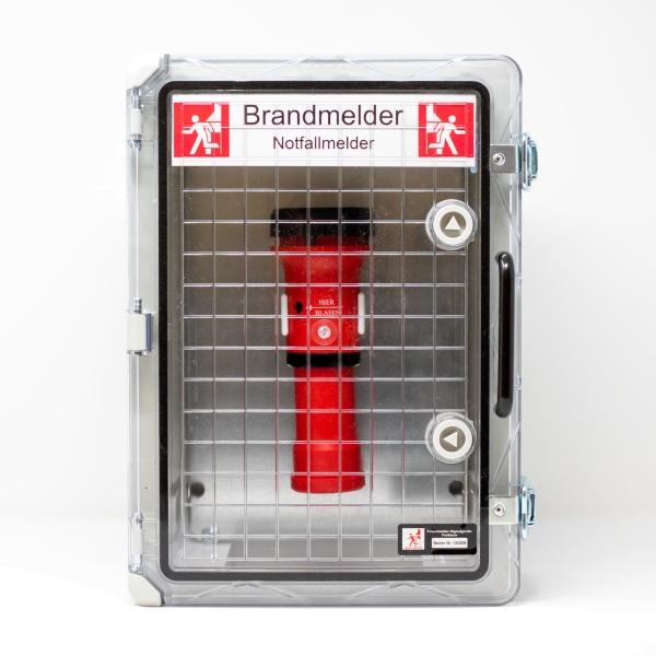 Notfallmelder - Brandmeldung für Außenanlagen