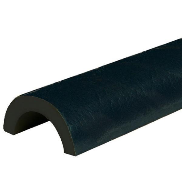 Knuffi SHG Warn- und Schutzprofil | Typ R50 | schwarz
