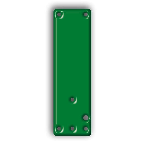 Montageplatte für Einhand- & Schwenk-Türwächter zur Klebemontage