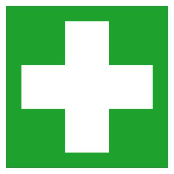 Erste-Hilfe-Schild - langnachleuchtend