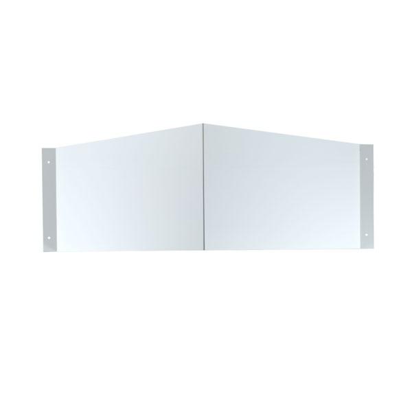 Schilderträger Winkel blanko 30x15 cm