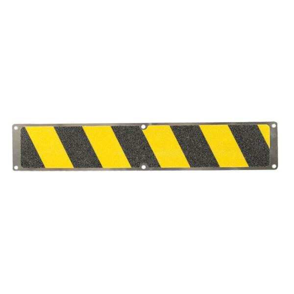 Antirutsch-Aluminiumplatte   schraubbar   gelb/schwarz