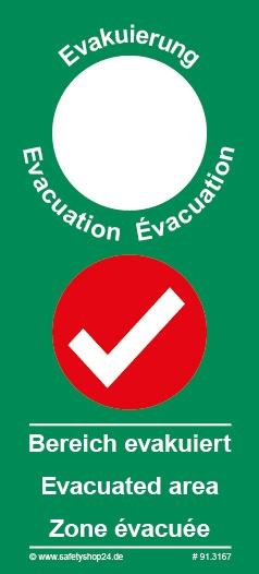 Türanhänger Evakuierung (kurz) | Standard
