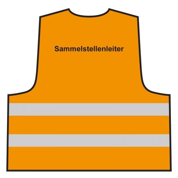 Warnweste - Sammelstellenleiter