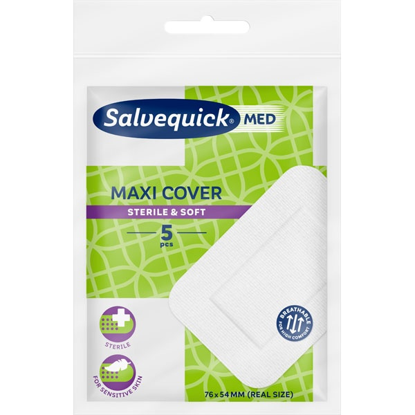Salvequick Maxi Cover Schnellverband Pflaster