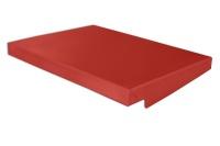 Regendach für A3-Wandschrank aus Stahlblech (91.2008) | rot