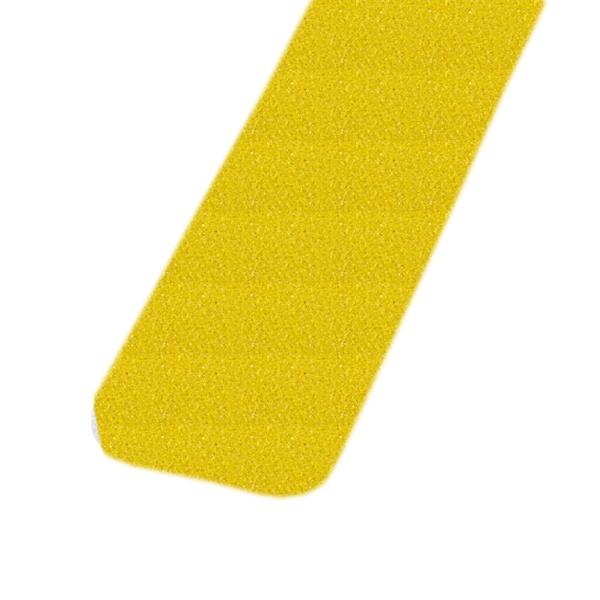 m2-Antirutschbelag™ | 10 Einzelstreifen gelb | 2,5 cm breit