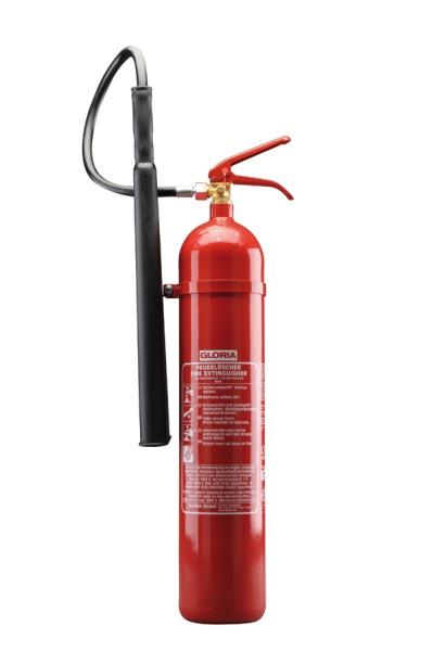 Gloria CO2-Feuerlöscher (KS 5 ST) | 5 kg | 5 LE