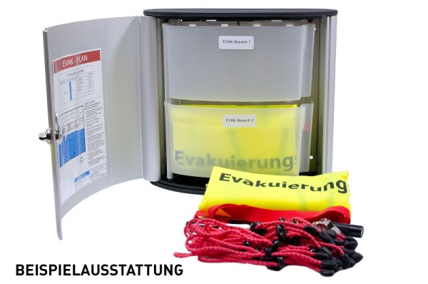 EVAK-BOX K individuell ausgestattet