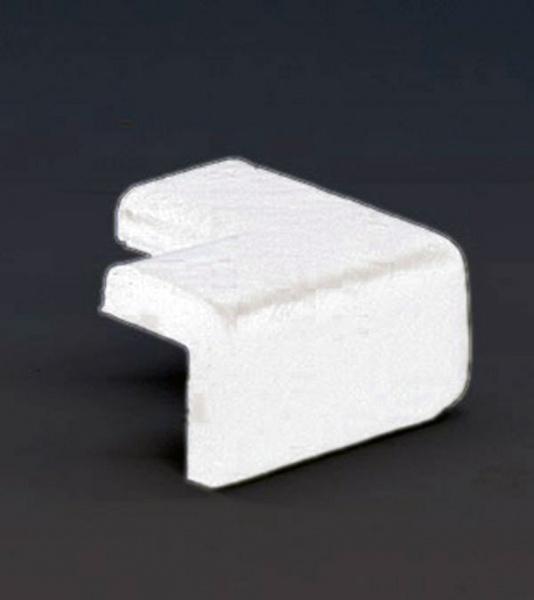 Knuffi SHG Eckschutz | Typ E | 2-schenkelig | weiß