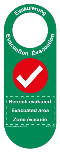 Türanhänger Evakuierung | Premium