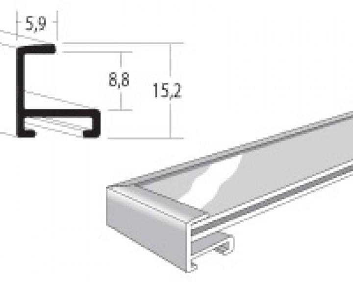din a3 safetyframe p rahmen f r flucht und rettungspl ne silbermatt safetyframe p. Black Bedroom Furniture Sets. Home Design Ideas