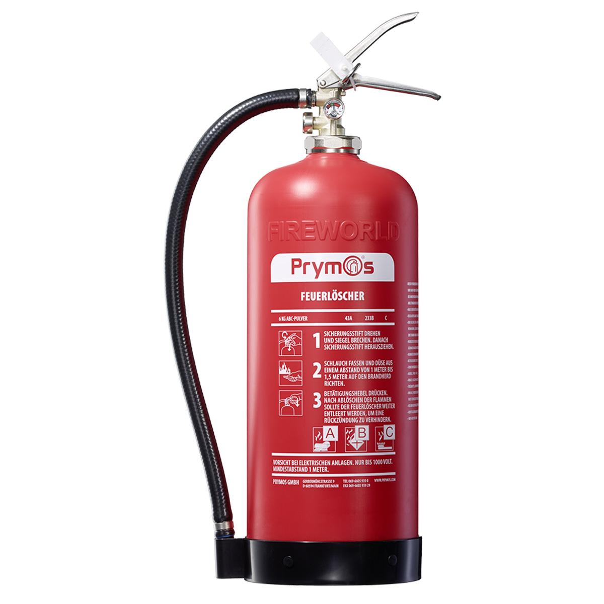 Favorit Prymos® Feuerlöscher   leicht, korrosions- & wartungsfrei YC89