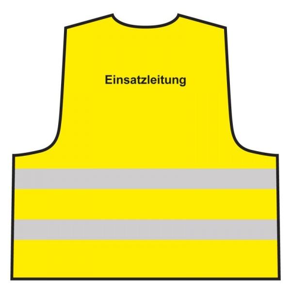 Warnweste - Einsatzleitung | gelb