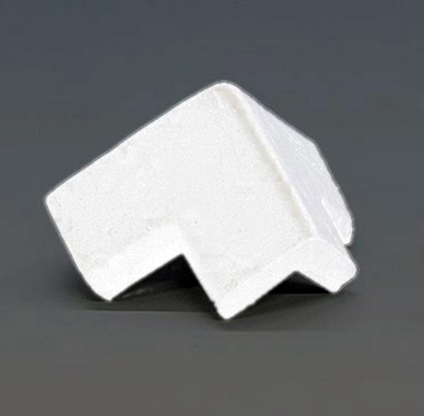 Knuffi SHG Eckschutz | Typ E | 3-schenkelig | weiß