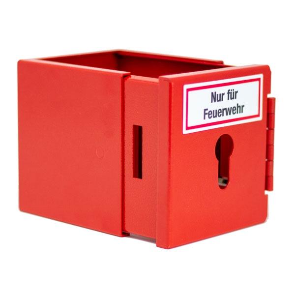 Feuerwehrleiterhalter | bauseitiger Profilhalbzylinder (PHZ)