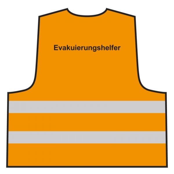 Warnweste - Evakuierungshelfer