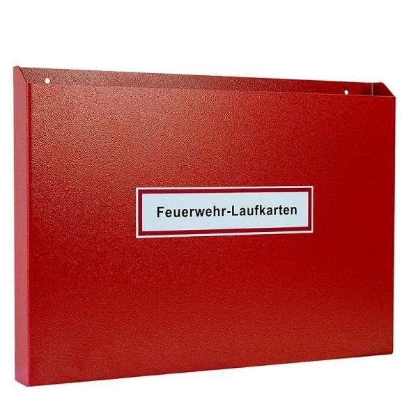 Feuerwehr-Laufkartendepot für DIN A3 quer