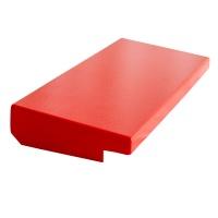 Regendach für A4-Wandschrank aus Stahlblech (91.2201 & 91.2209) | rot
