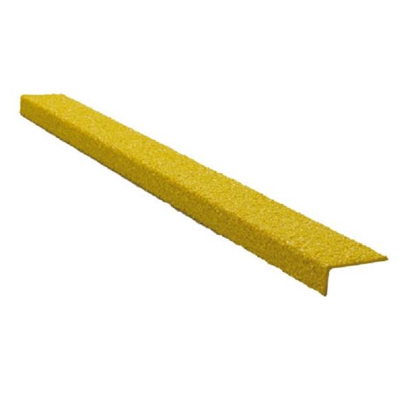 GFK-Antirutschprofil, schraubbar | Extra Stark (4,20 mm) | Gelb