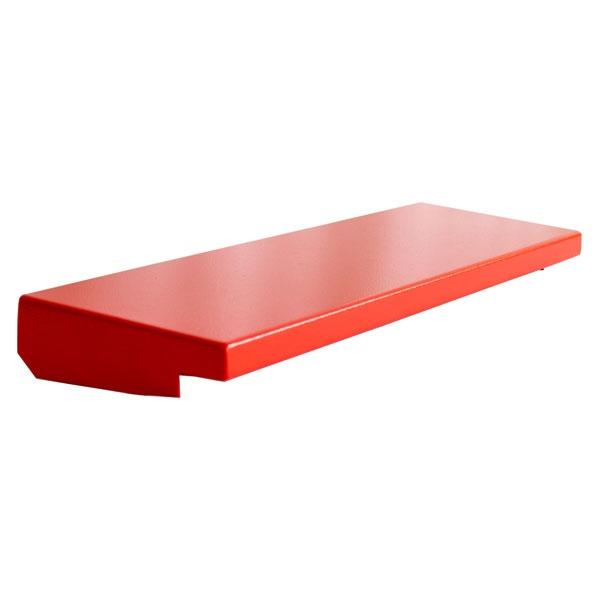 Regendach für A3-Wandschrank aus Stahlblech (91.2205 & 91.2210) | rot