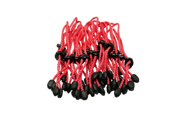 Türbänder | 20 Stück | Markierungsbänder | rot