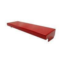 Regendach für A4-Wandschrank aus Stahlblech (91.2024) | rot