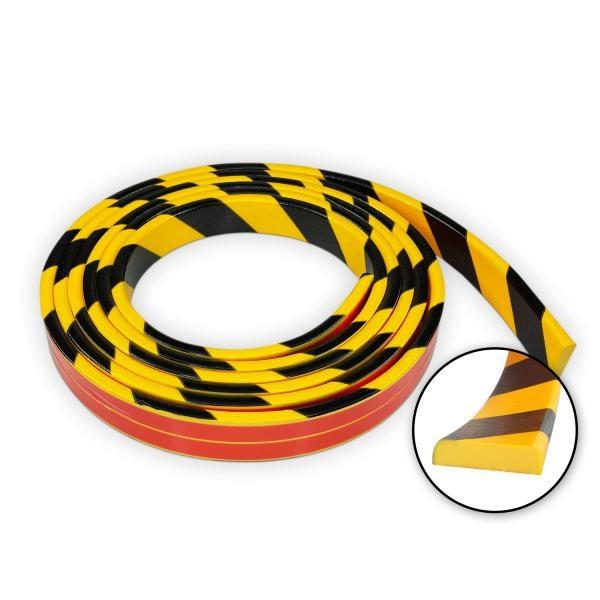 Knuffi SHG Warn- und Schutzprofil | Typ F | gelb/schwarz | 5m Rolle