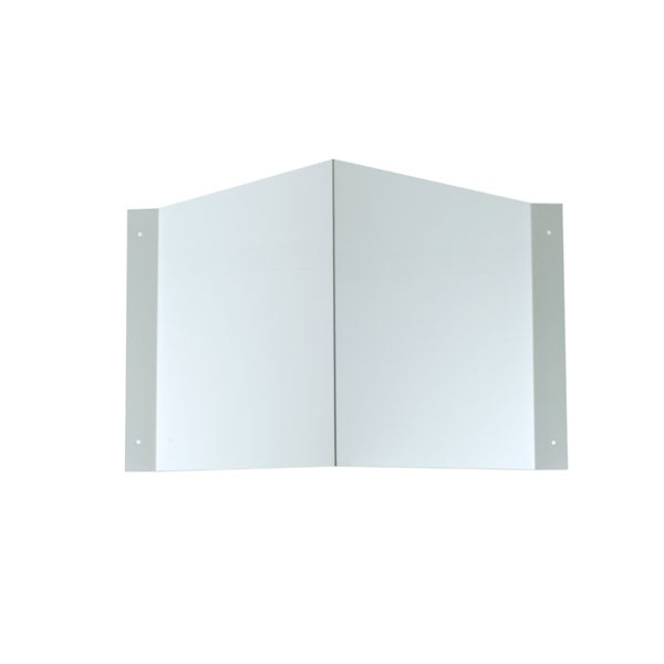 Schilderträger Winkel blanko 15x15 cm