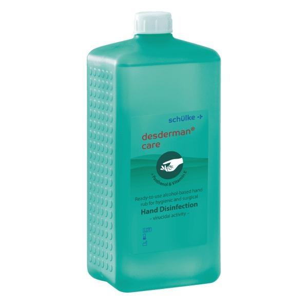 Schülke Handdesinfektion desderman care | 1 Liter | Euroflasche