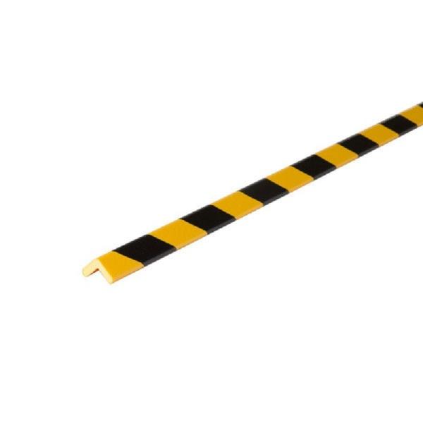 Knuffi SHG Warn- und Schutzprofil | Typ H+ | gelb/schwarz