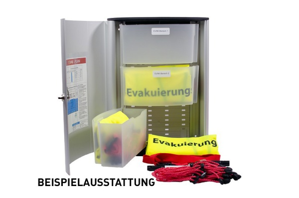 Evakuierungsbox G individuell ausgestattet